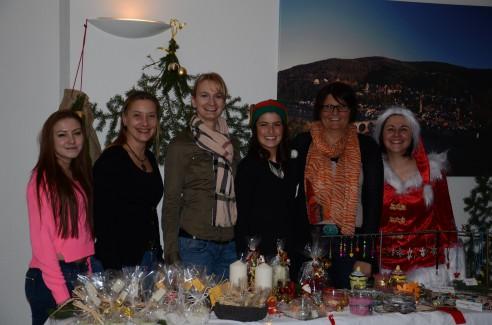 Weihnachtsmarkt in unseren Praxisräumen - DSC_5418